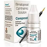 Careprost drop Lengthening, intensifying and germinating the growth of eyelashes and eyebrows, hair loss treatment and…