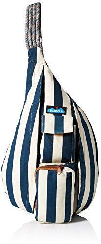 KAVU Rope Backpack, Nautical Stripe, One (Rope Stripe)