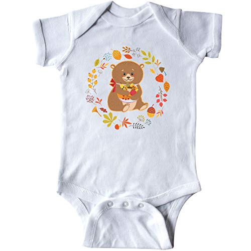 inktastic - Thanksgiving Wreath Woodland Infant Creeper 24 Months White 31def from inktastic
