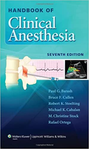 Anesthesia - Handbook of Clinical Anesthesia 7th Edition [Updated Link] 41TJD05Fm2L._SX297_BO1,204,203,200_