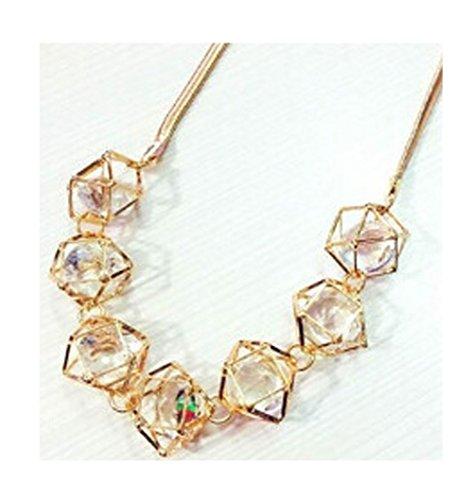Sunne Exaggerated Fashion Jewelry Alloy Crystal Retro Decorative Clavicle - Gates Mall Cross