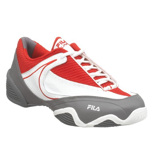 Punto Chr Tennis Men's Performance Shoe Wht Red Fila q5aAvzY
