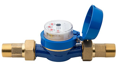 Hunter HC100FLOW Hydrawise 1' Flow Meter for Touch Screen Smart Wifi Enabled Sprinkler Controller HC-075-FLOW