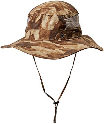 Columbia Bora Bora Print Booney Hat, British Tan Camo, One (Columbia Booney Hat)