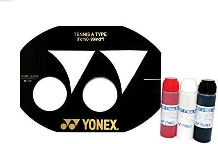 90-99 inch Yonex Tennis Stencil Stencil Ink
