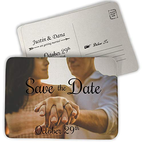 (Custom Save The Date Coasters, Full Color (Pack of)