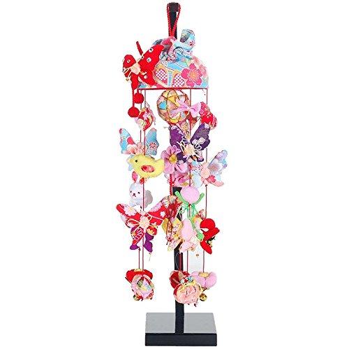 吊るし飾り【アゲハ蝶】飾り台セット [特小] スタンド付き【sb3-agh-ss】   B07NMQ874X