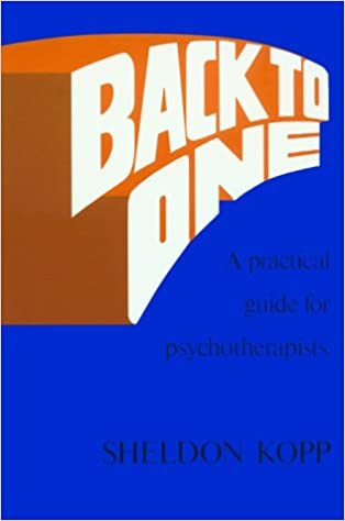 A Practical Guide for Psychotherapists Back to One