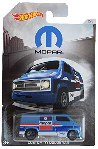 - Hot Wheels Mopar, [Blue] Custom '77 Dodge Van 2/8