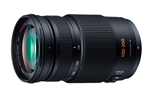 PANASONIC-LUMIX-G-Vario-Lens-100-300mm-F40-56-ASPH-Mirrorless-Micro-Four-Thirds-MEGA-Optical-IS-H-FS100300-USA-BLACK