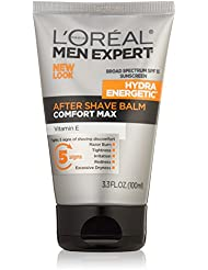 L'Oréal Paris Men's Expert Hydra Energetic After Shave Face Moisturizer Balm, 3.3 fl. oz.