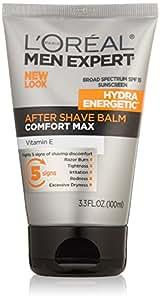 L'Oréal Paris Men's Expert Hydra Energetic After Shave Face Moisturizer Balm, 3.3 fl. oz.