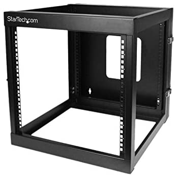 Startech Com 12u 22 Inch Hinged Open Frame Rack Cabinet Wallmount Server Components
