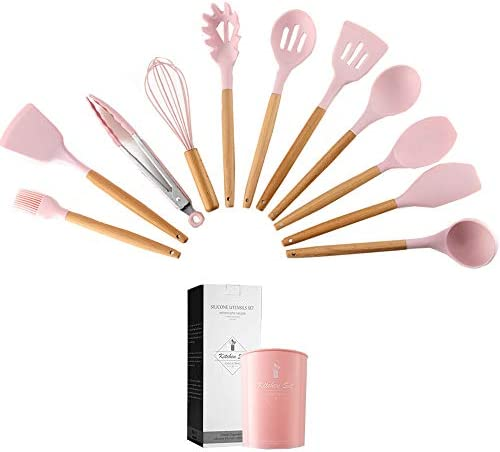 Caliamary Silicone Utensils Nonstick Cookware product image