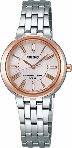 SEIKO WATCH watch SPRIT Spirit Solar Radio fix sapphire glass for everyday life waterproof SSDT058 Ladies