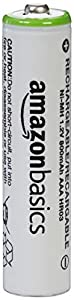 AmazonBasics AA NiMH Pre-Charged Rechargeable Batteries