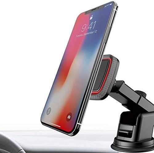 WJZJ Coche Auto Smartphone Parabrisas Universal Sujeta Movil Porta ...