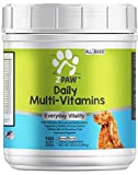 ZPAW Daily Multi-Vitamins and Vitamins for Dogs of All Ages | Minerals and Antioxidants from Natural Ingredients for a Strong Immune System and Healthy Nervous System (180 Soft Chews)