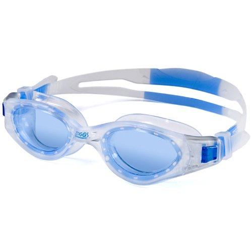 ZOGGS Aqua-Tech Plus Swimming Goggle (Clear Frame/Blue Lens)
