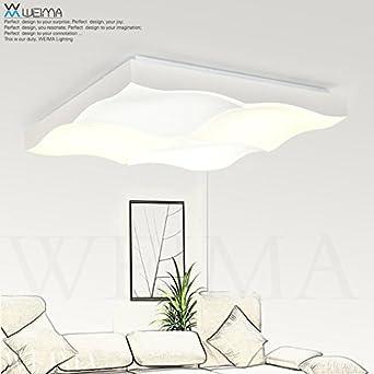 jj moderna lmpara de techo led regulable de saln iluminacin led lmpara de techo minimalista moderno