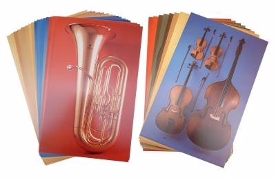 Bowmar Meet the Instrument Posters