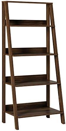 Walker Edison Sophia Modern 4 Shelf Ladder Bookcase