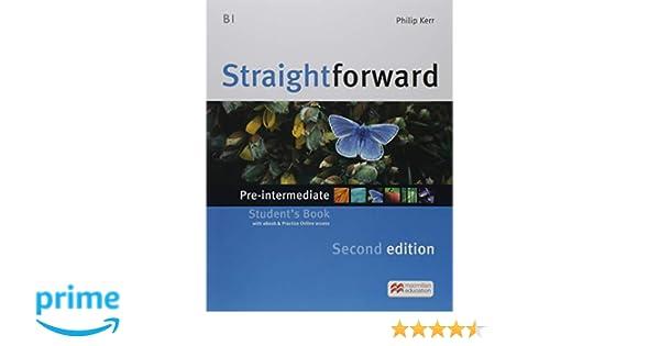 STRAIGHTFWD Pre-Int Sb ebook Pk 2nd Ed Straightforward: Amazon.es ...