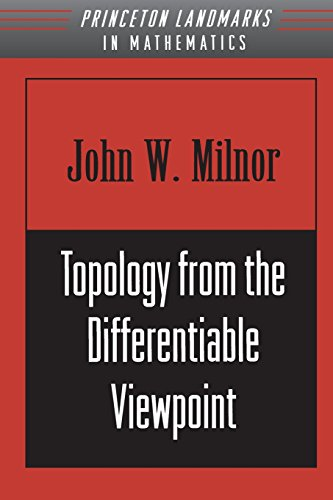 Topology From Differentiable Viewpoint