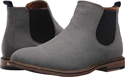 Madden Men's M-Graye Chelsea Boot, Light Grey Suede, 9 M US (Boots Mens Suede Chelsea)