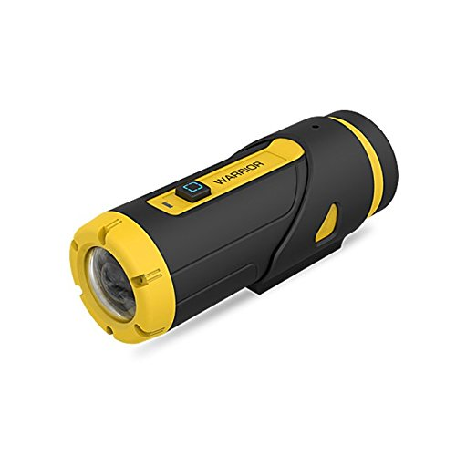 Yuntab Warrior G1 Sports Action camera H.265 Wi-Fi 3400mAh Top-Speed Startup G- Sensor 1080P Waterproof 165° Wide Angle Camcorder 12-month Standby Wifi 16GB Wireless Remote Control (G1-Yellow)