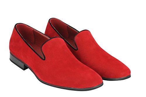 Red Hombre Suede rojo Xposed Zapatillas Bajas wgxEqgU8I