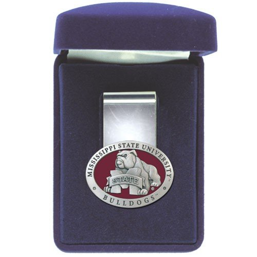 (Heritage Pewter Mississippi State Bulldogs Money Clip)