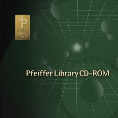 Pfeiffer Library CD-ROM by Pfeiffer