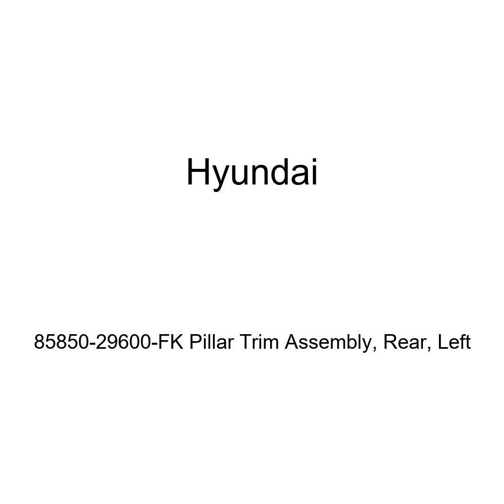 Rear Genuine Hyundai 85850-29600-FK Pillar Trim Assembly Left
