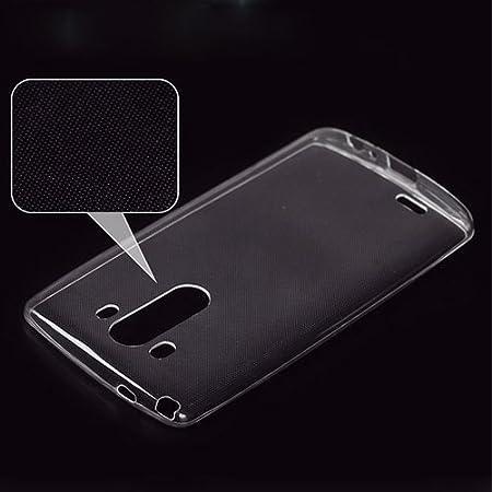 Donkeyphone Producto Original Funda Gel Transparente para LG G3 D850 D855 Silicona Ultra Thin - Ultra Fina 0,33 mm