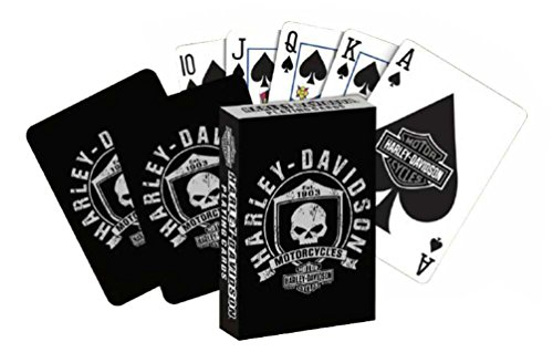 Harley-Davidson Willie G Skull & Shield Standard Size Playing Cards Deck 625