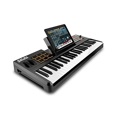 Akai Professional SynthStation 49 49-Note Keyboard Controller with Drum Pads and Doc by Akai Professional