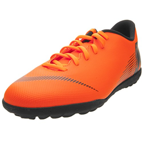 Adulto Total TF Unisex Multicolor NIKE Deporte Zapatillas T 12 Club Black Orange de 810 Vaporx C1nwwxvaq8