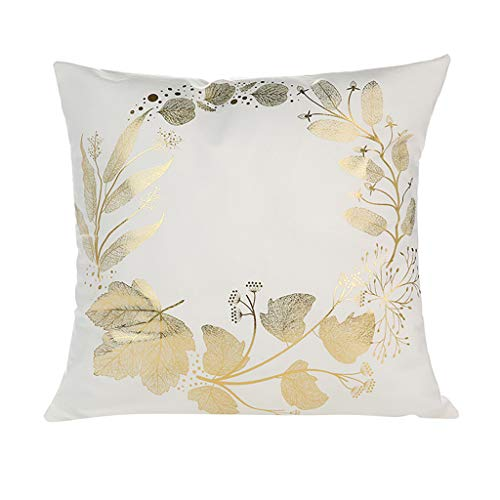 LENXH Office cushion cover sofa hug pillowcase casual pillowcase stamping printing pillowcase