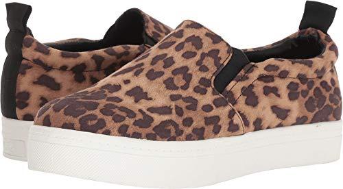 Print Circus Cheetah Scotlyn Edelman by Women's Black Sneaker Fabric Brown Sam qazPCq
