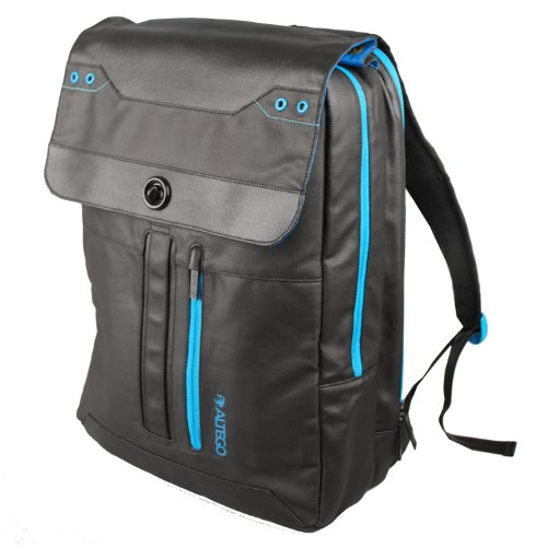 "Amazon.com: Altego Coated Canvas Cyan 17"" Laptop Backpack for ..."