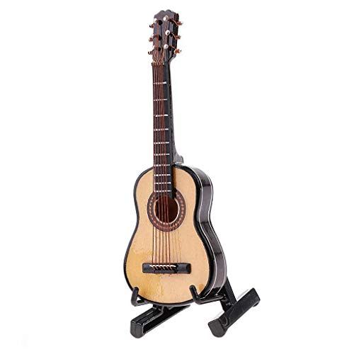 "FidgetGear 1:6 Scale 10cm Length Wooden Classic Guitar Model for 12"" Figure #1 from FidgetGear"