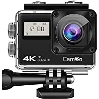 CamGo Y 4K 20MP WiFi Ultra HD Underwater Waterproof Camera 30M Sports Camcorder with Remote Control