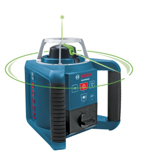 Bosch GRL300HVG Self-Leveling Rotary Laser with Green Beam T