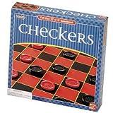 : Basic Checkers Game Set