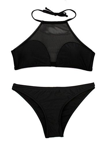 stile costume RELLECIGA top a set donna nbsp;fascia bikini retr bandeau 668f5qxwr
