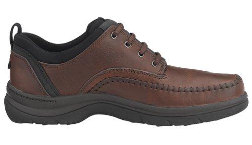 Clarks Mens Portland Oxford Brunt Läder
