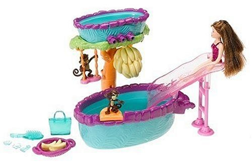 Polly Pocket Fountain Falls Double-Decker Hot Tub ()