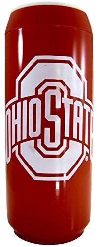 NCAA 15 Oz Insulated Double Wall Acrylic Travel Can (Ohio State Buckeyes Red)