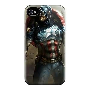 Back Samsung Galaxy S6 - Captain America I4